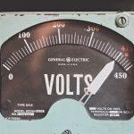 Un indicateur électrique rétro
